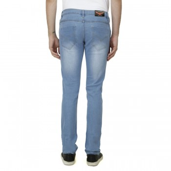 HALTUNG MENS SLIM FIT JEANS MW LBLUE-32 4