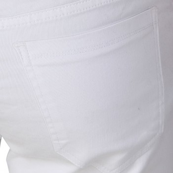 HALTUNG MENS SLIM FIT JEANS WHITE-32 3