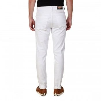 HALTUNG MENS SLIM FIT JEANS WHITE-36 4