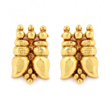 Adoreva Gold Plated Necklace Earrings Set for Women 285 2