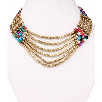 Adoreva Statement Necklace Set for Women 249 1