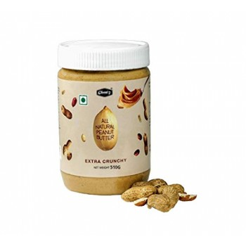 ALL NATURAL PEANUT BUTTER CRUNCHY (510 GM)