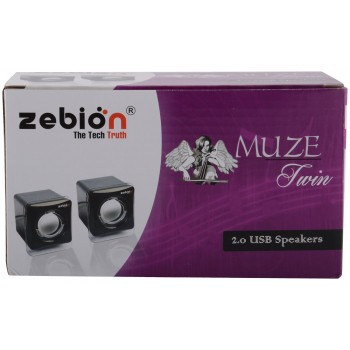 Zebion Muze Twin Speakers 1
