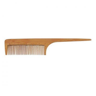 BABILA WOODEN TAIL COMB