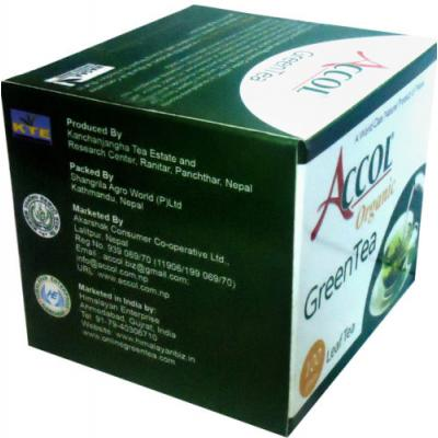 Accol Organic Green Tea Leaf 100 Gm 2