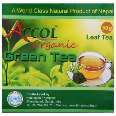 ACCOL Organic Green Tea (50 gm)