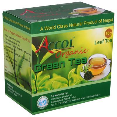 ACCOL Organic Green Tea (50 gm) 1