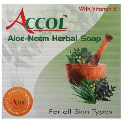 ACCOL Aloe Neem Herbal Soap