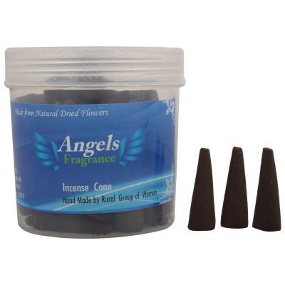 Angels Dhoop cone Mogra,Rose,Jasmine and Lavender 1