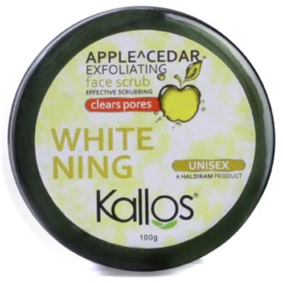 APPLE CEDER EXFOLIATING FACE SCRUB