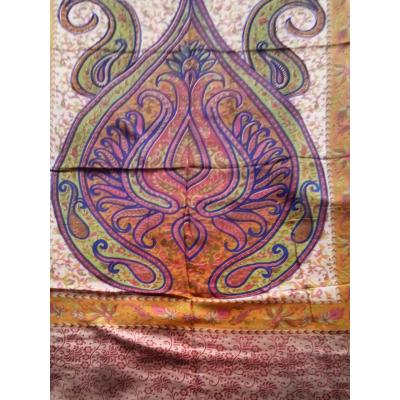 Multi colour Printed Shawl