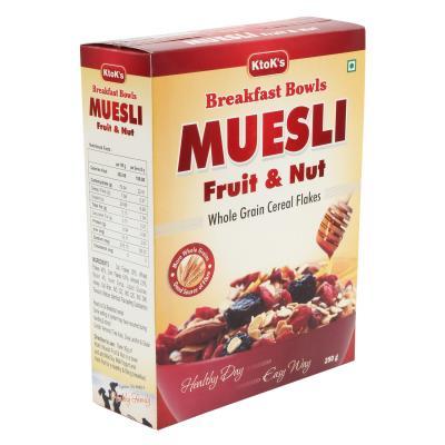 Breakfast Cereal Muesli Fruit & Nut  250 gms