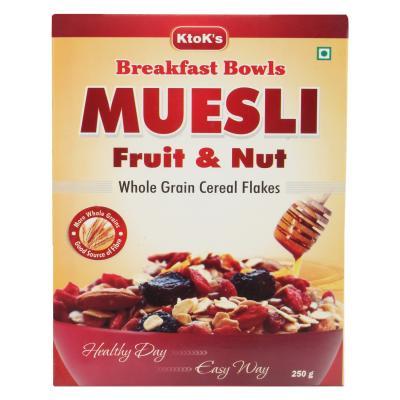 Breakfast Cereal Muesli Fruit & Nut  250 gms 2