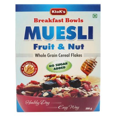 No Added Sugar Fruit & Nut Muesli 250 gms 3