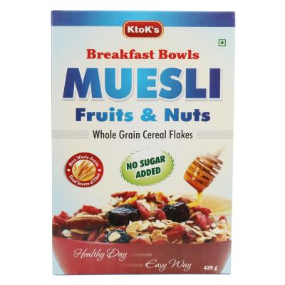 No Added Sugar Fruit & Nut Muesli 425 gms