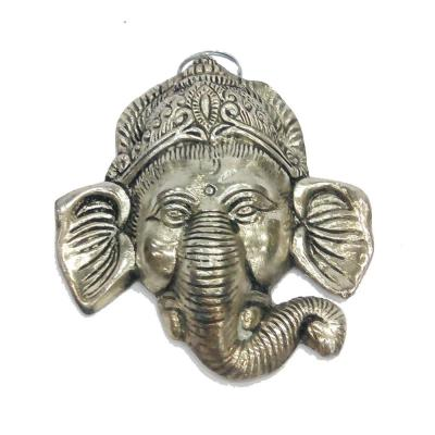 Brass Material Hanging Ganesha Face