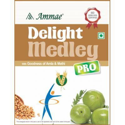 Ammae Delight Medley Pro (Multigrain Porridge Powder with Amla and Methi), 200g 1