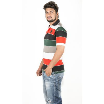 Multicolor Polo T-Shirt 1
