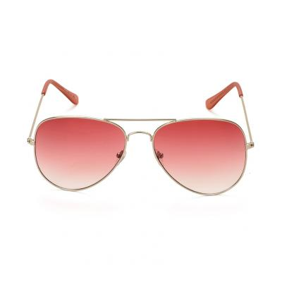 Red Avaitor Sunglass