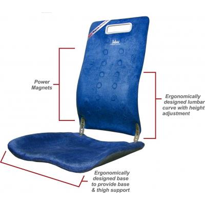 Sabar Back Support 3091XC Magnetic Backrest 3
