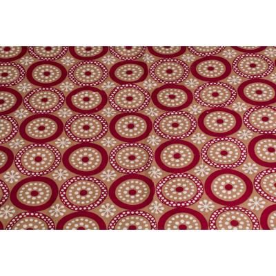Jaipuri Printed New Traditional Checkered Single Bed Sheet 1