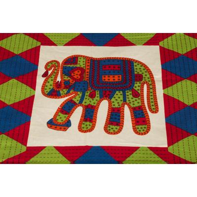 Jaipuri Printed New Traditional Checkered Single Bed Sheet 2