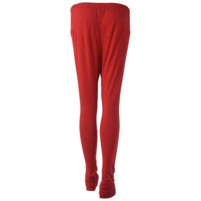 Ssuviddhy Eco Cotton Leggings Red - Free Size 1