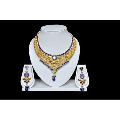 Blue Moon Necklace Set (Imitation)
