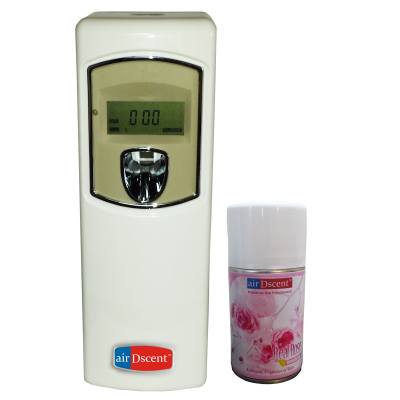 Automatic Air Freshener Dispenser(Dispenser) With Refill - Rose Petals