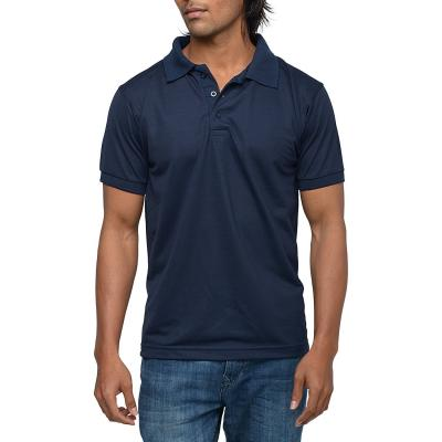 Mens Navy Polo T-shirt