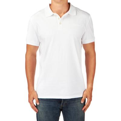 Mens White Polo T-shirt