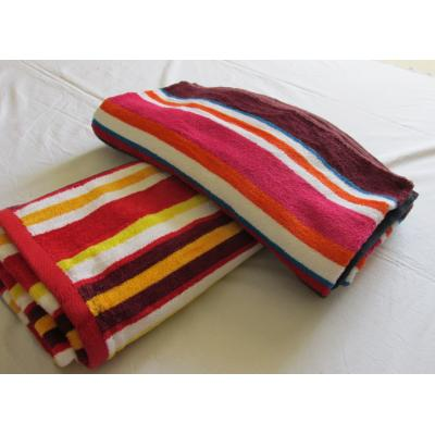 DR STRIPE BATH TOWEL