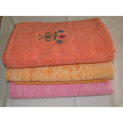 GOLD CHOICE EMBROIDERY  BATH TOWEL 2