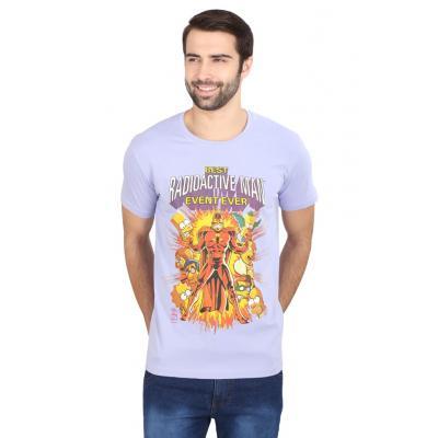 Planet Superheroes - Simpsons - Radioactive Purple Man T-Shirt