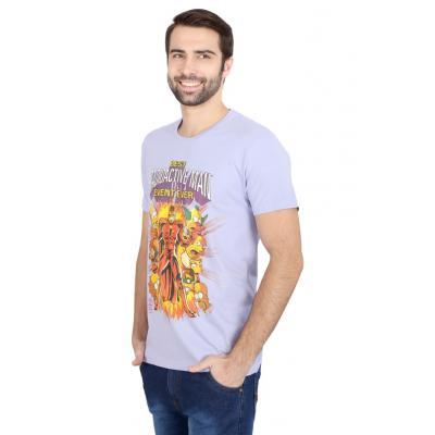 Planet Superheroes - Simpsons - Radioactive Purple Man T-Shirt 1