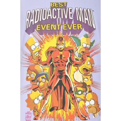 Planet Superheroes - Simpsons - Radioactive Purple Man T-Shirt 3