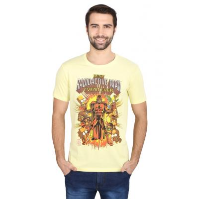Planet Superheroes - Simpsons - Radioactive Man Yellow T-Shirt