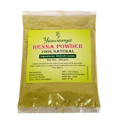 100% natural Henna Powder