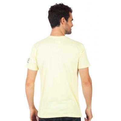 Planet Superheroes - Johnny Bravo - The Hunk Yellow T-Shirt 3