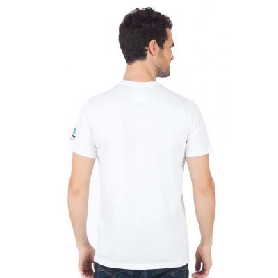 Planet Superheroes - Johnny Bravo - The Love Machine White T-Shirt 3