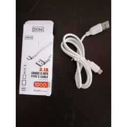 2.1 Amps Type C Data Cable
