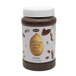 CHOCOLATE PEANUT BUTTER CREAMY (1kg)