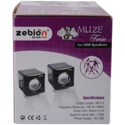 Zebion Muze Twin Speakers 2