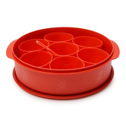 Oliveware Spice Storage Container Red