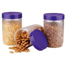 Oliveware Transparent FCS104 Plastic PET Jar, Capacity: 400 Ml