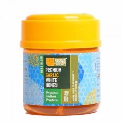 Kashmiri Garlic Infused Premium White Honey - 150 Gms