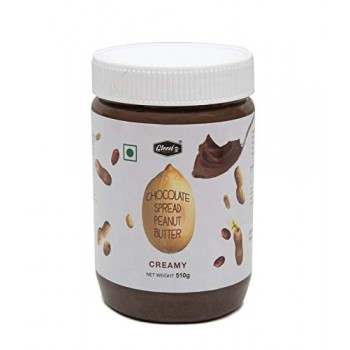CHOCOLATE PEANUT BUTTER CREAMY(350 GM)